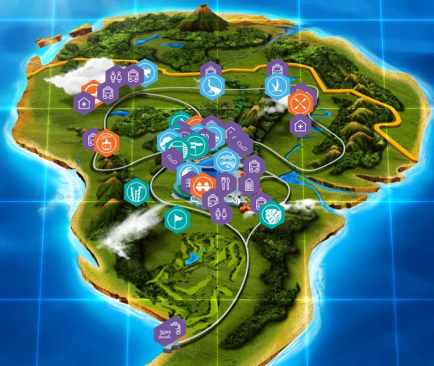 Jurassic World Map – goCart e.V.